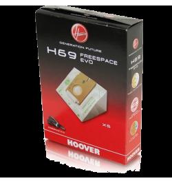 EMBALAGEM SACOS HOOVER P/ FREESPACE EVO - H69
