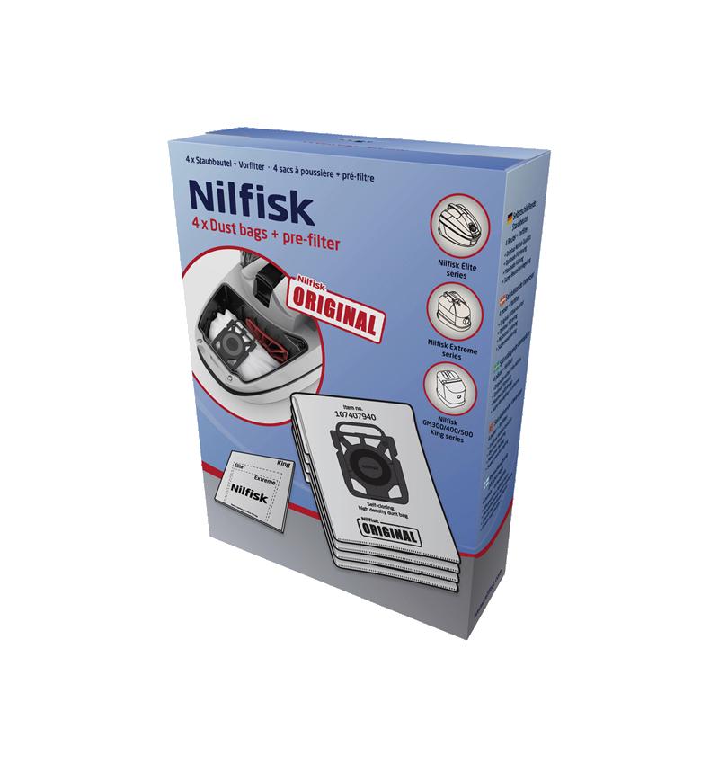 EMBALAGEM SACOS P/ASP ELITE NILFISK - 107407940