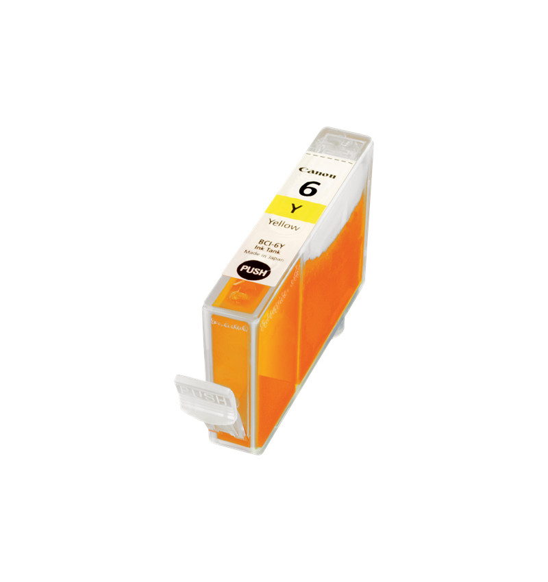 BCI-6Y Yellow p/S800-BJC-8200-S820D-900-9000-830D-I950-I9100-I865
