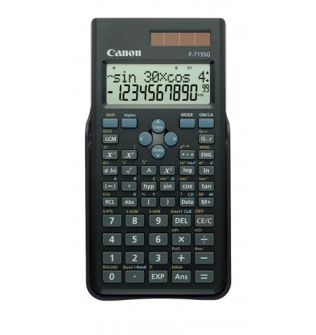 Calculadora Canon F-715SG Black EXP DBL (5730B001AB)