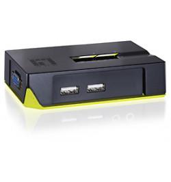 2 Port USB Desktop Switch - inclui cabos