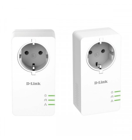 D-Link PowerLine AV2 1000 HD Gigabit Passthrough Kit (Levante já em loja)