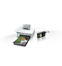 Impressora Selphy CP1000 Branca - Impressora fotográfica compacta e portátil