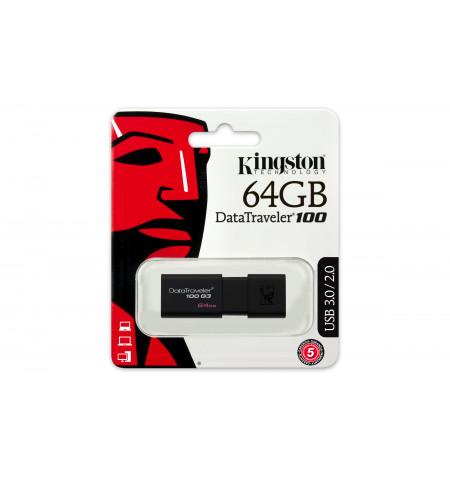 Kingston DataTraveler 100 64GB USB 3.0