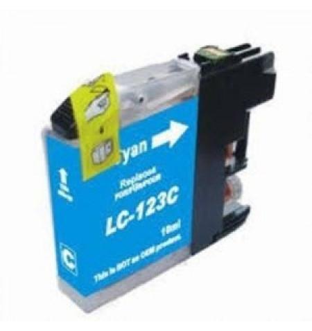 Tinteiro Brother Compatível LC123 XL Azul (V3)