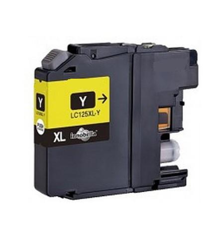 Tinteiro Brother Compatível LC125XL amarelo