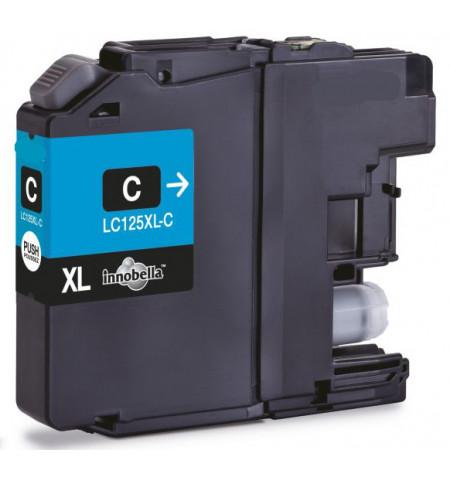 Tinteiro Brother Compatível LC125XL Azul - Levante já em loja