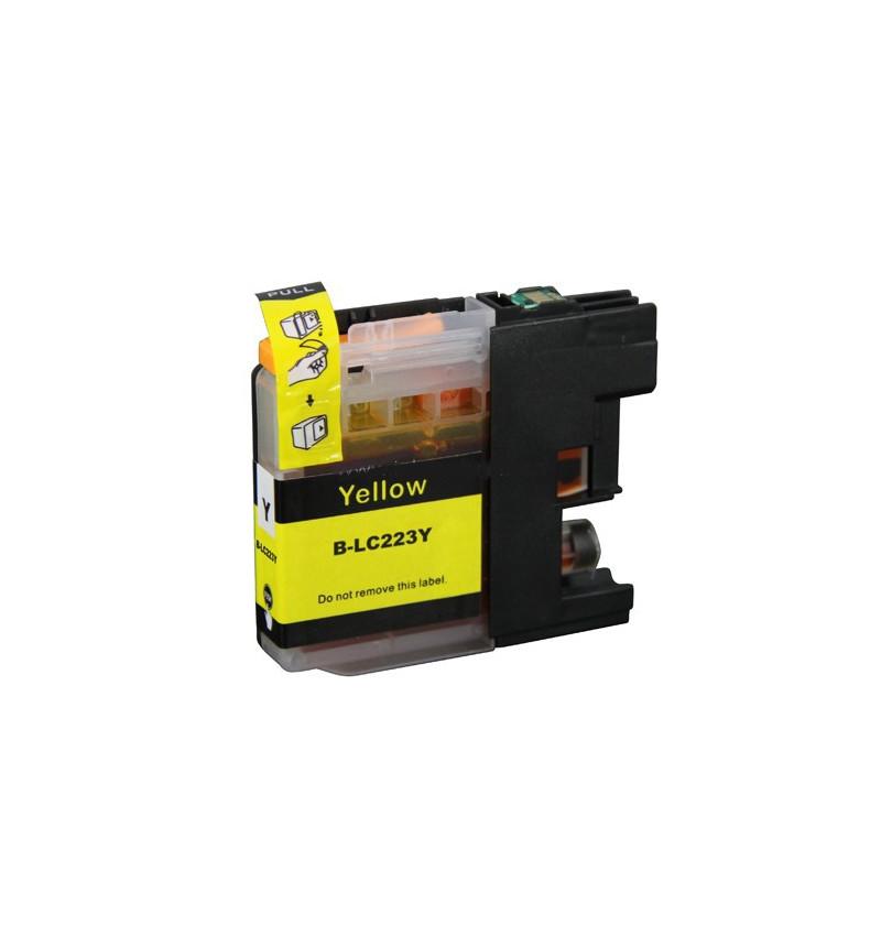 Tinteiro Brother Compatível LC223 XL Amarelo
