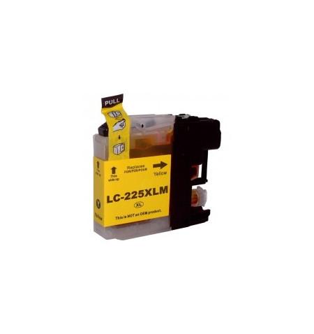 Tinteiro Brother Compatível LC225 XL (V2) Amarelo