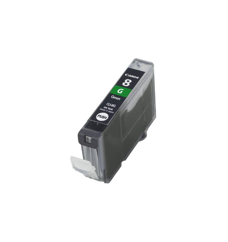 Tinteiro Canon Compatível CLI-8G Verde (profissional)