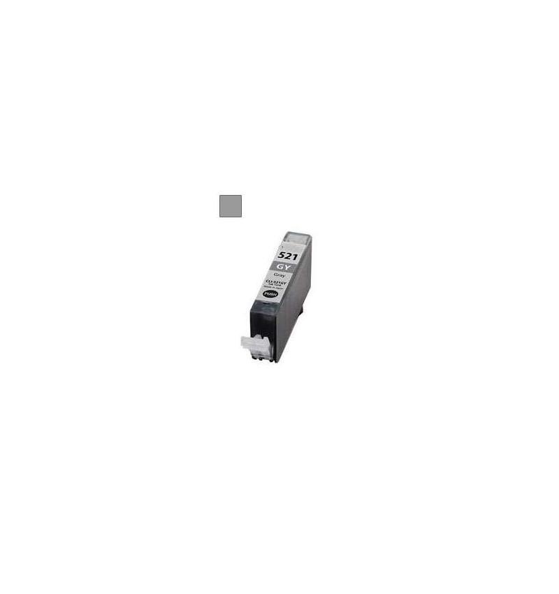 Tinteiro Canon Compatível CLI-521GY (CINZA)