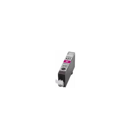 Tinteiro Canon Compatível CLI-521M magenta