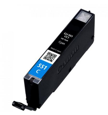 Tinteiro Canon Compatível CLI-551C XL azul