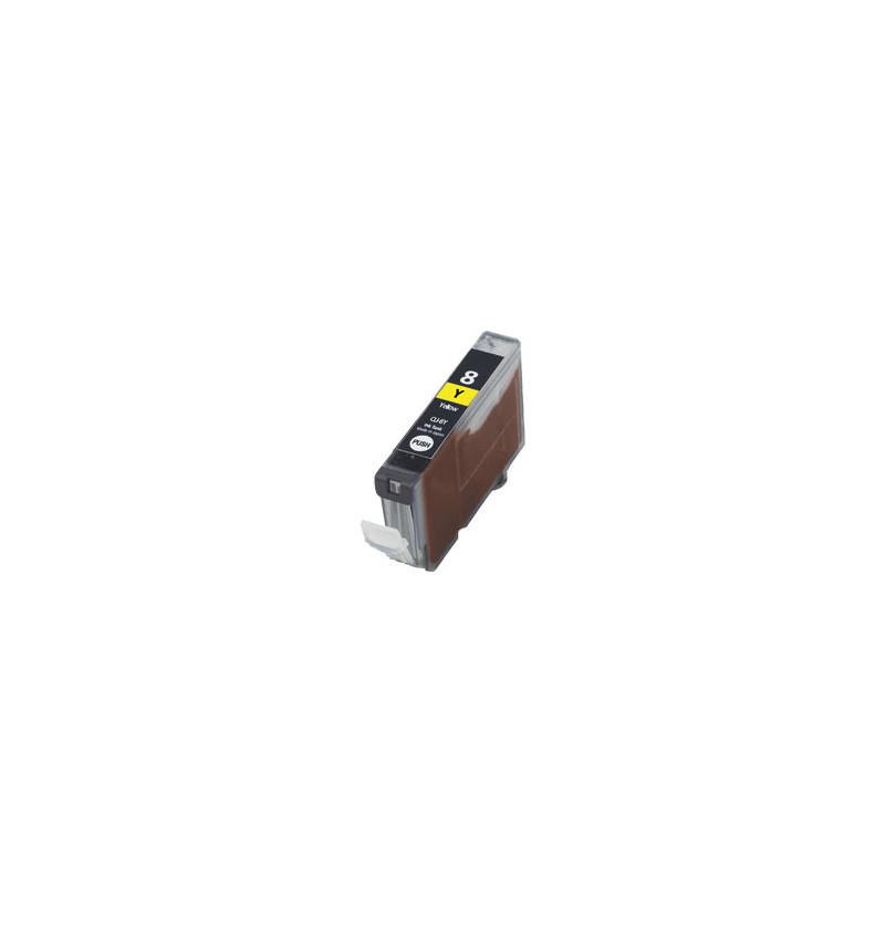 Tinteiro Canon Compatível CLI-8Y Amarelo