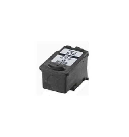 Tinteiro Canon Reciclado PG-510 / PG-512 XL Preto