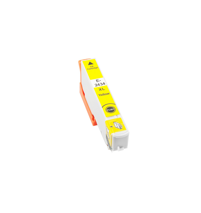 Tinteiro Compatível Epson 24 XL, T2434 amarelo