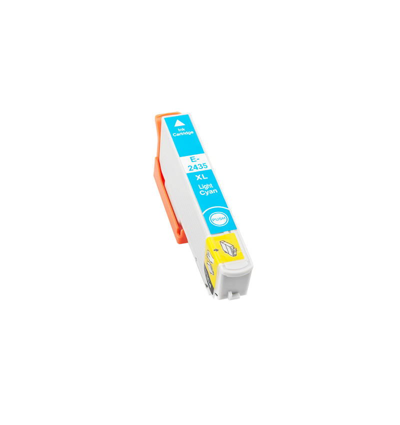 Tinteiro Compatível Epson 24 XL, T2435 azul claro
