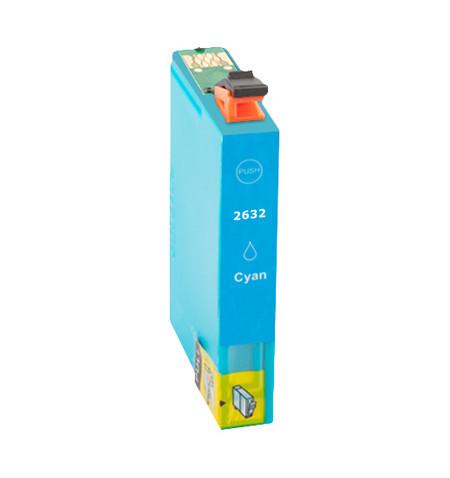 Tinteiro Compatível Epson 26 XL, T2632 azul