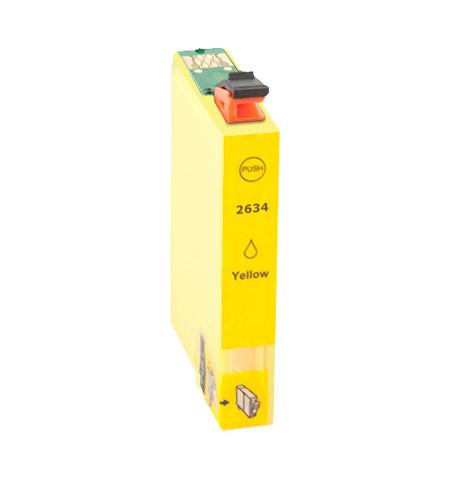 Tinteiro Compatível Epson 26 XL, T2634 amarelo