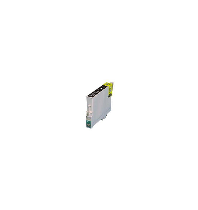 Tinteiro Epson Compatível T0801 / T0791 - Preto