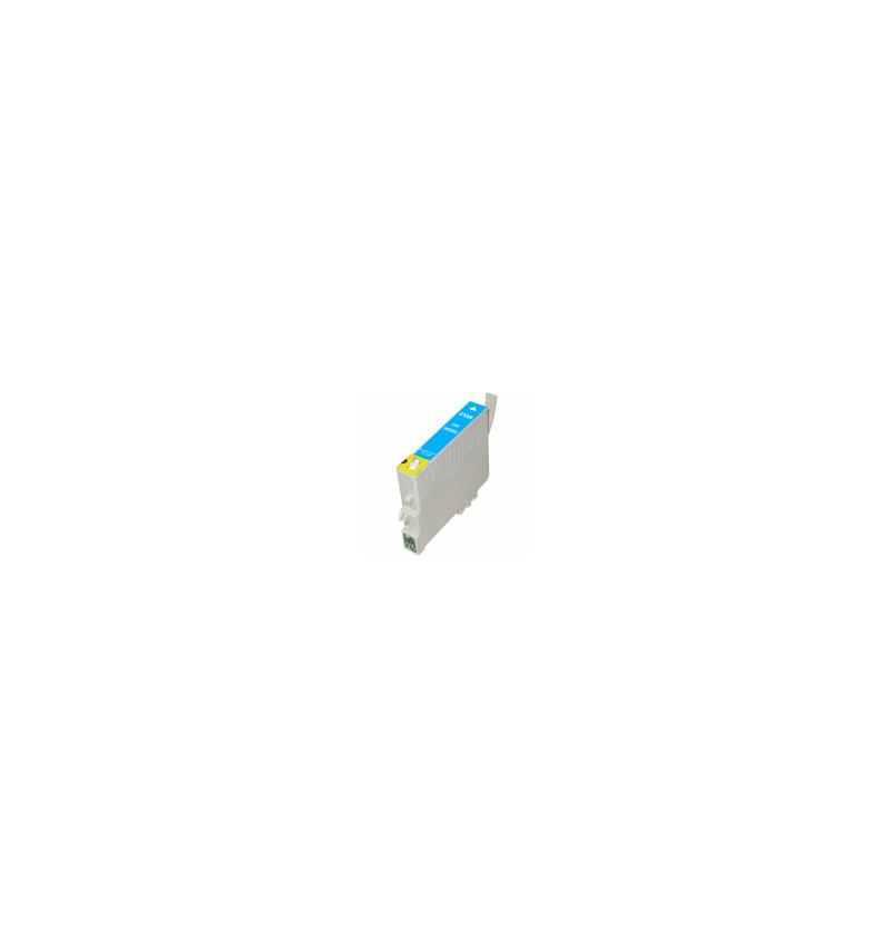 Tinteiro Epson Compatível T0802 / T0792 - Azul