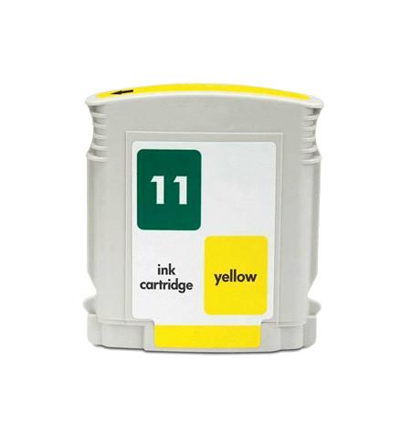 Tinteiro HP 11 Compatível (C4838A) amarelo