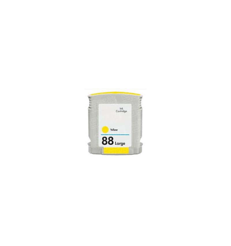 Tinteiro HP 88 Amarelo Compatível (C9393AE)