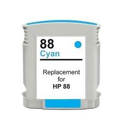Tinteiro HP 88 Azul Compatível (C9391AE)