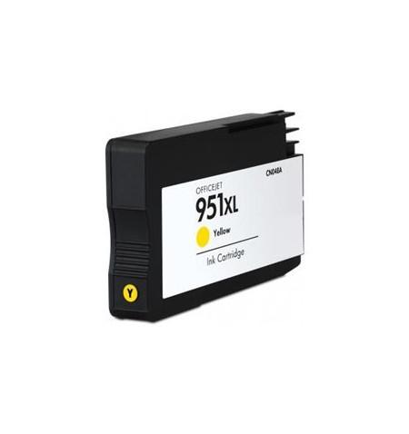 Tinteiro HP Compatível 951 XL V4 amarelo (CN048AE)