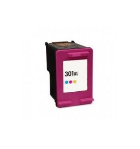 Tinteiro HP Reciclado 301 XL Cores NOVA VERSÃO (CH564EE)