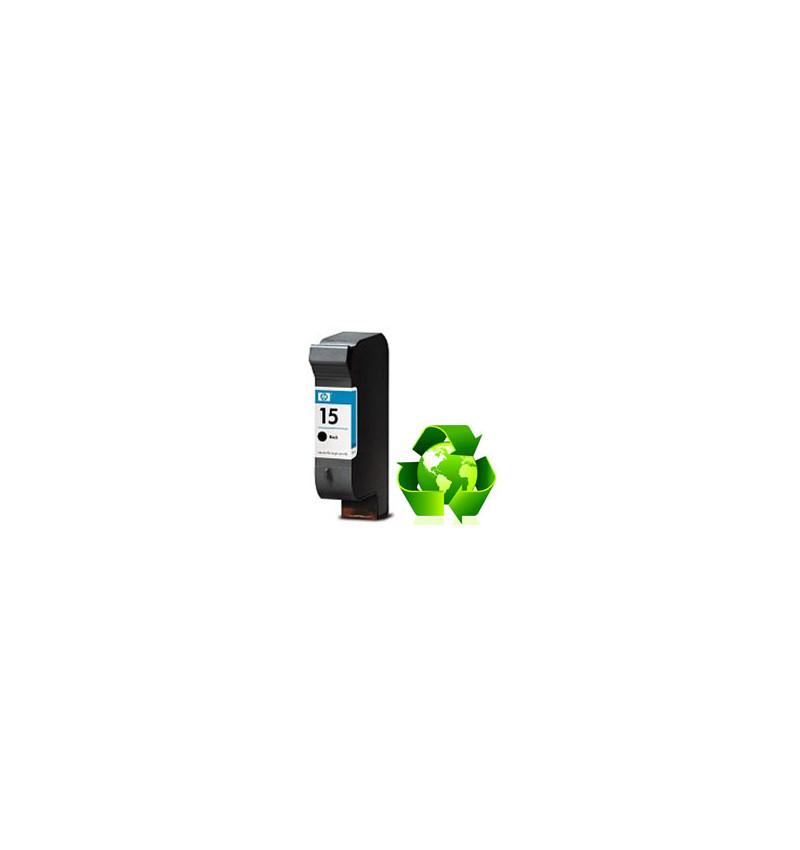 Tinteiro HP Reciclado N 15 preto (C6615DE)
