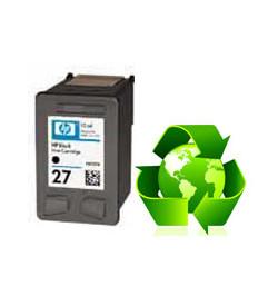 Tinteiro HP Reciclado N 27 preto (C8727AE)