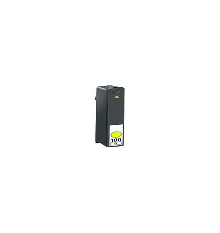 Tinteiro Lexmark Compatível Nº 100XL Amarelo