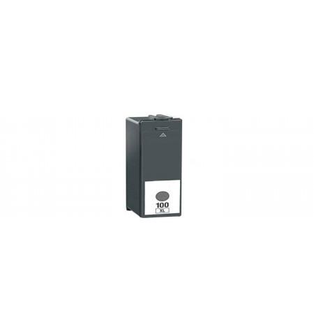 Tinteiro Lexmark Preto Nº 100XL Compatível (14N1068E)
