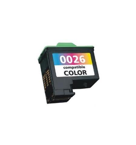 Tinteiro Lexmark Reciclado N 26 ou 27 tricolor