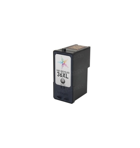 Tinteiro Reciclado Lexmark 36 XL Preto (18C2170)