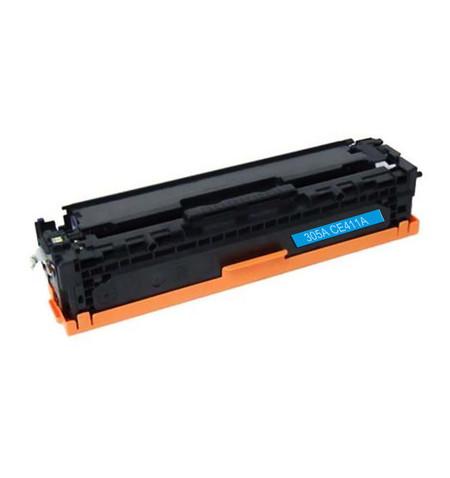 Toner HP 305A Compatível (CE411A) azul