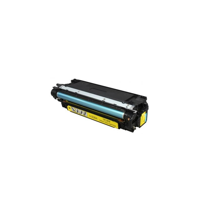 TONER HP 648A Compatível Amarelo (CE262A)