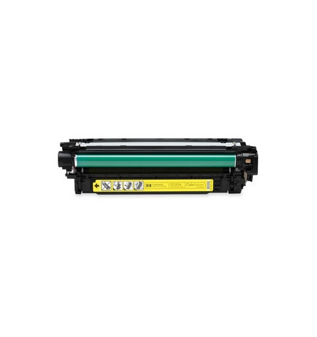 Toner HP 504A Compatível CE252A Amarelo