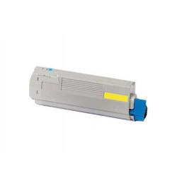 Toner OKI Compatível C301 / C321 amarelo