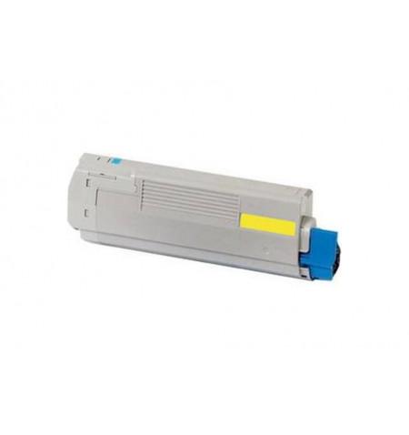 Toner OKI Compatível C301 / C321 amarelo (44973533)