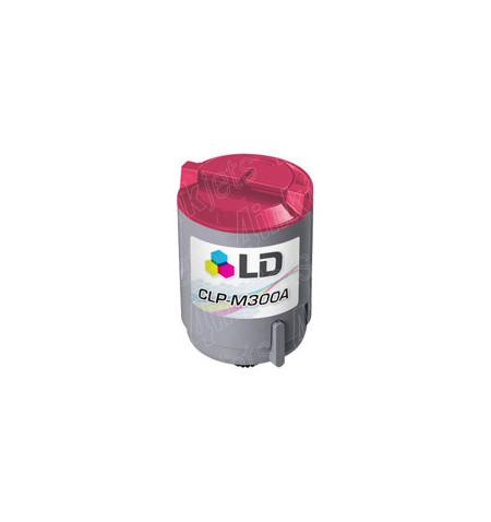 Toner Samsung Compatível CLP-300 Magenta