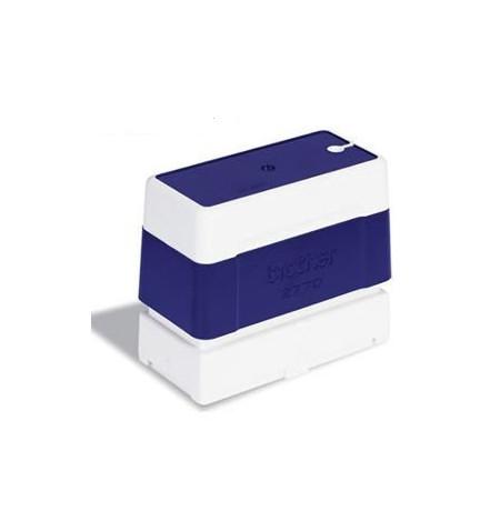 Carimbo azul tamanho de 27mm x 70mm - PR-2770-E6P