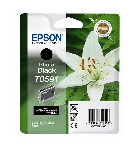 Tinteiro Original Epson R2400 Preto (C13T05914010)
