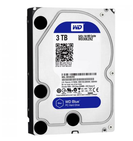 "HDD Western Digital 3TB Green 3.5"" 64mb cache SATA 6gb/s - WD30EZRZ"