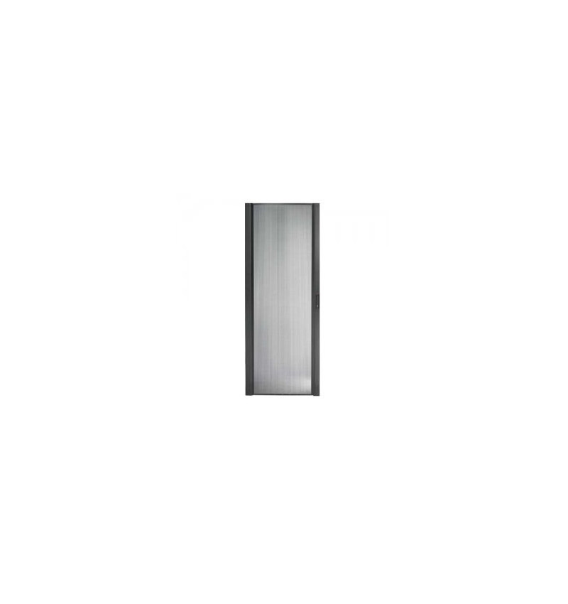 NetShelter SX 48U 750mm Wide Perforated Curved Door Black