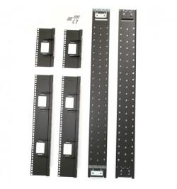 NetShelter SX 48U 750mm Wide Recessed Rail Kit