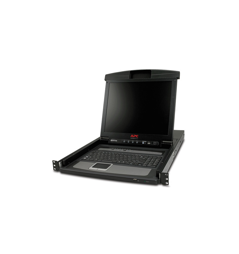 "17"" Rack LCD Console with Integrated 16 Port Analog KVM Switch"
