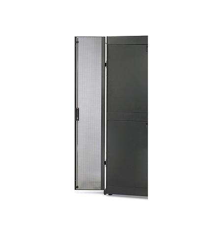 APC NetShelter SX 42U 600mm Wide Perforated Split Doors Black - AR7100