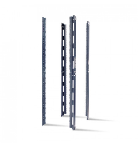 """APC NetShelter SX 42U, 23"""" EIA Mounting Rails, Square Holes (AR7510)"""